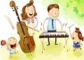 Мелодию детства пишут родители
